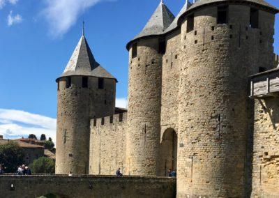 Carcassonne Entrée Château Comtal Gîte EstWest