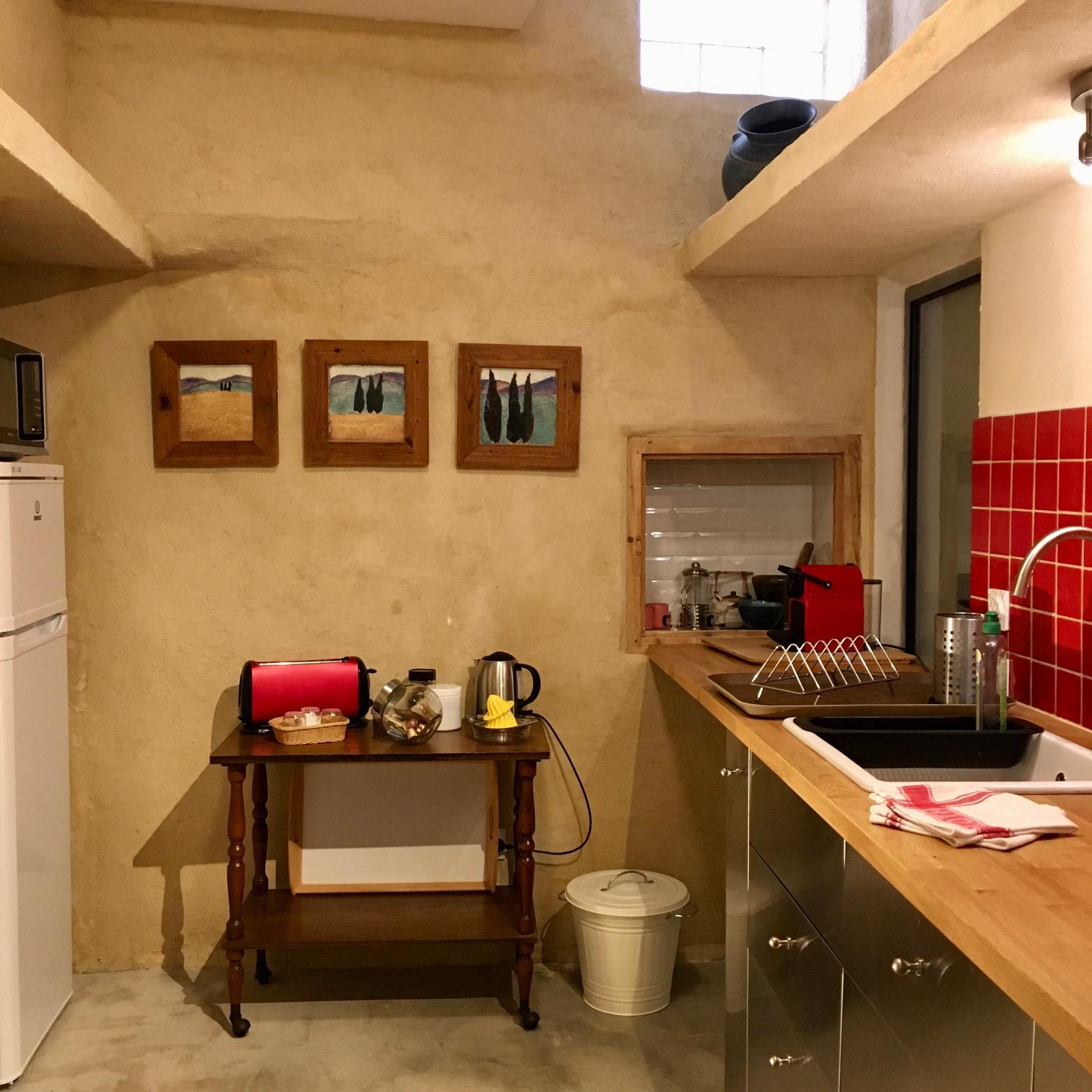 Lagrasse Gîte et Chambre d'Hôtes EstWest Cuisine
